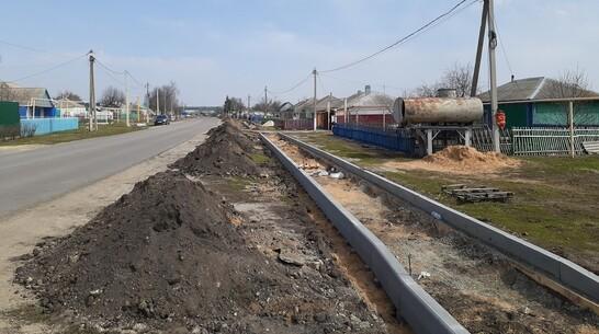 Тротуар из брусчатки сделают в селе Хохол к лету