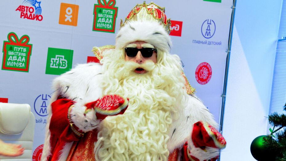 Дед Мороз из Великого Устюга прочитал рэп в Воронеже