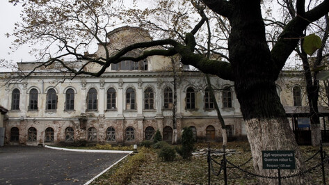 Воронежская компания «Экспресс» прокомментировала сбивку лепнины с фасада дома Вигеля