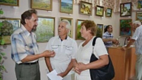 В Россоши открылась выставка ко Дню города