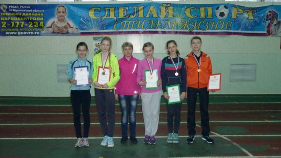 Поворинские легкоатлеты завоевали восемь медалей на первенстве области