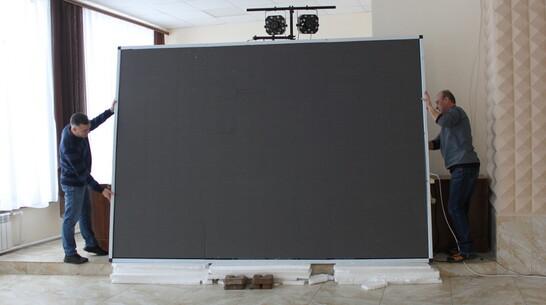 Светодиодный экран установят на здании районного Дома культуры в Петропавловке