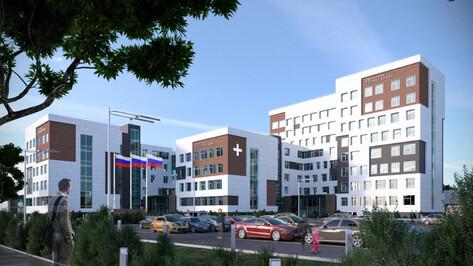 Воронежские проектировщики показали поликлинику с бассейнами на месте яблоневых садов