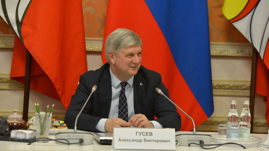 Губернатор Воронежской области Александр Гусев завел свой телеграм-канал