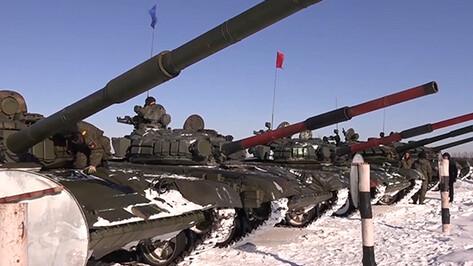 Команда из Воронежской области победила в соревнованиях по танковому биатлону