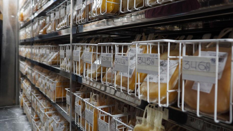 Почти 32 тыс литров крови сдали в 2020 году в Воронежской области