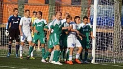 Лискинский «Локомотив» одержал третью победу в сезоне