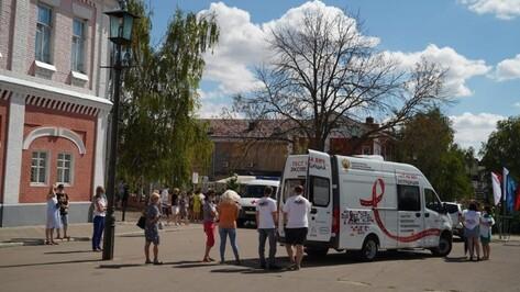 В Воронежской области более 100 человек сдали тест на ВИЧ в мобильных лабораториях