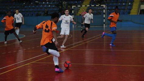 В Воронеже прошел областной турнир по мини-футболу среди студентов