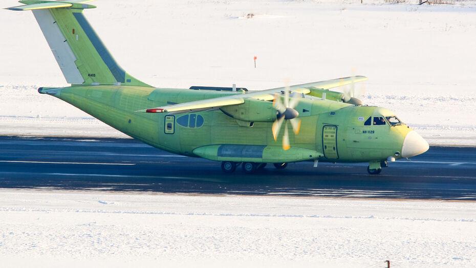 В Воронеже начались первые испытания Ил-112В
