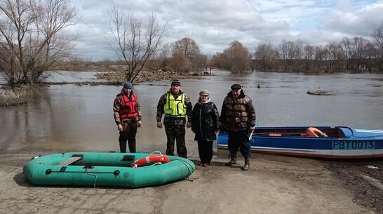 Переправу открыли на реке Ворона в Грибановском районе