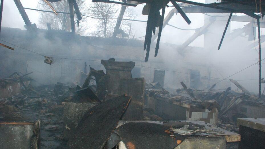 Прокуратура найдет виновных в пожаре на крытом рынке в Воронежской области