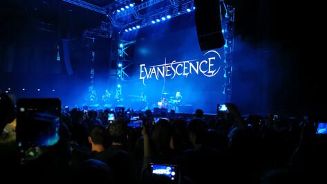 Группа Evanescence дала в Воронеже эксклюзивный акустический концерт из-за ДТП