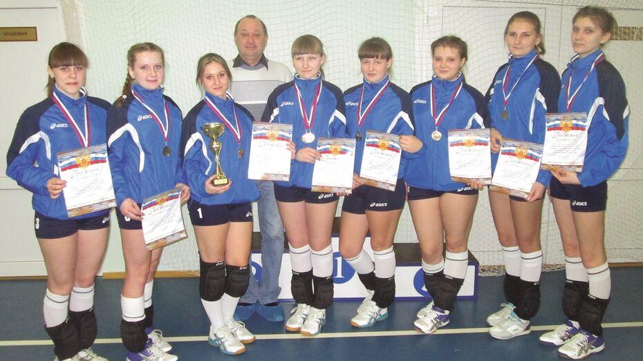 Волейболистки из Калача стали победительницами турнира Воронежской области по волейболу
