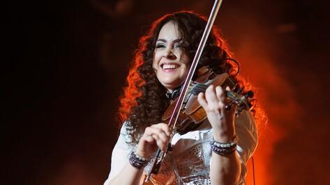 Выступавшая на мировых площадках скрипачка дала концерт в родном Воронеже