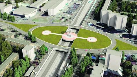 План работ на Остужевской развязке в Воронеже составят с минимальным перекрытием движения