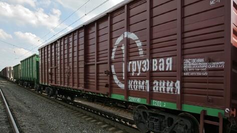 В Воронежской области «ВАЗ» столкнулся с поездом из 44 вагонов