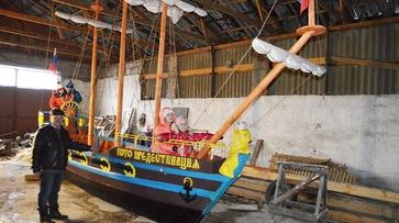 В Воронежской области построили мини-копию корабля «Гото Предестинация»