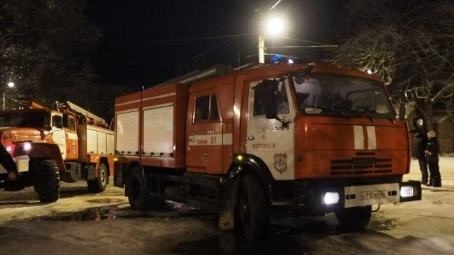 Тело неизвестного мужчины нашли в сгоревшей бытовке в Воронеже