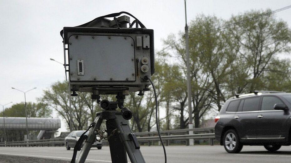 Воронежский водитель ответит за разбитую напильником камеру видеофиксации