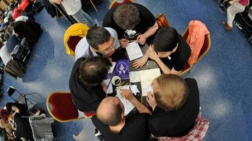 На открытие чемпионата России «Что? Где? Когда?» в Воронеже приехали известные знатоки