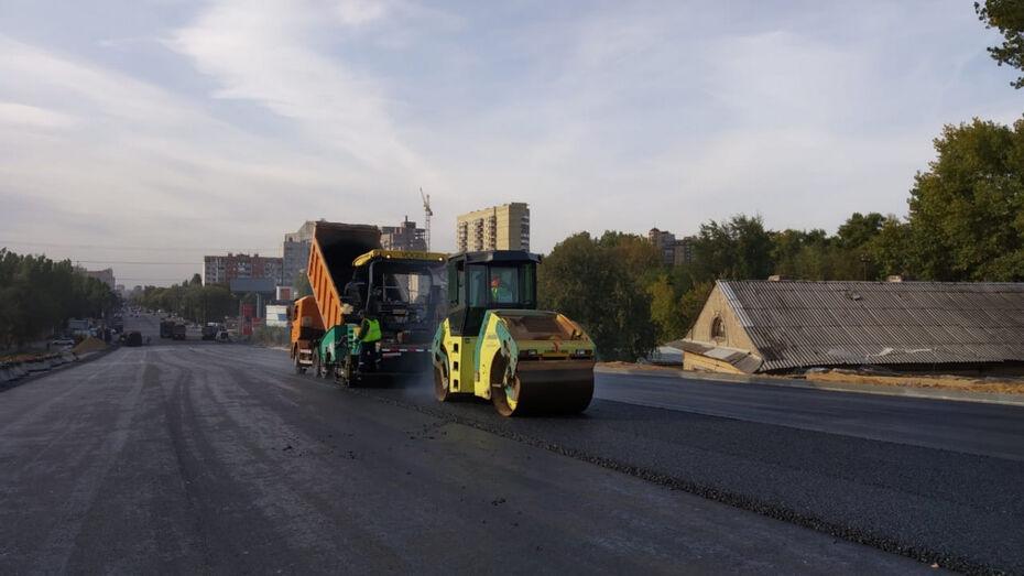 Воронежцев попросили воздержаться от поездок по отремонтированному виадуку на 9 Января