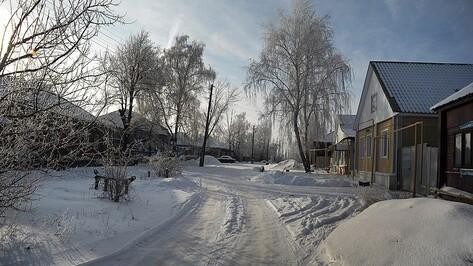 Ураган оставил без электричества 3 села под Воронежем