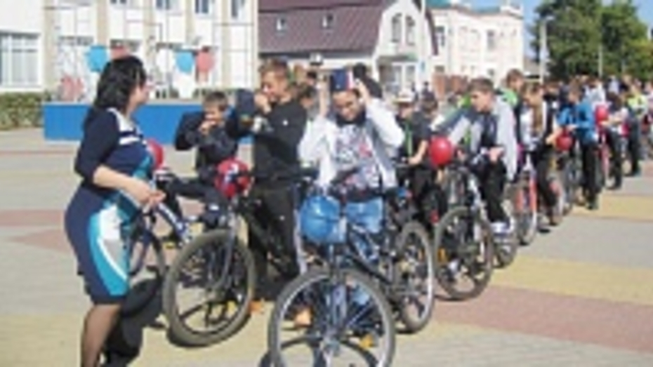 В Новохоперске прошел первый велопробег