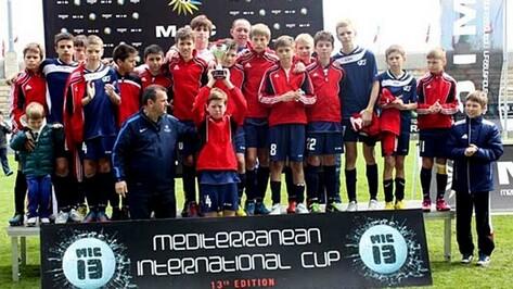 Юные футболисты воронежской «Энергии» заняли второе место на соревнованиях в Барселоне