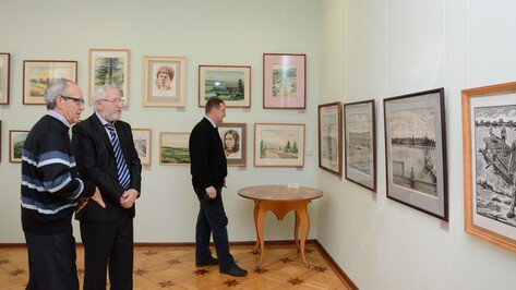 Острогожцам представили рисунки исторических хроник Руси