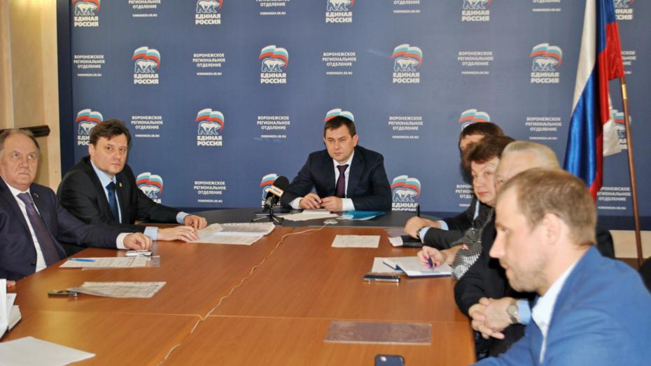 Воронежские единороссы приступят к дебатам в начале апреля