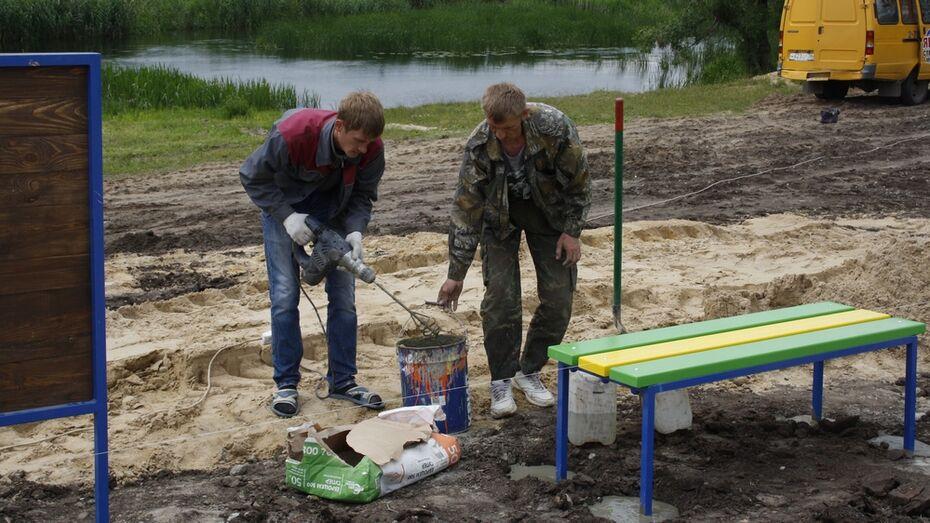 В аннинском селе обустроят пляж на реке Битюг