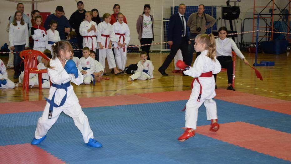 Борисоглебские каратисты завоевали 11 золотых медалей на открытом первенстве области