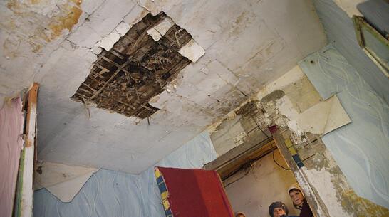 Жильцы «забытого» общежития в Воронежской области сообщили о потопе