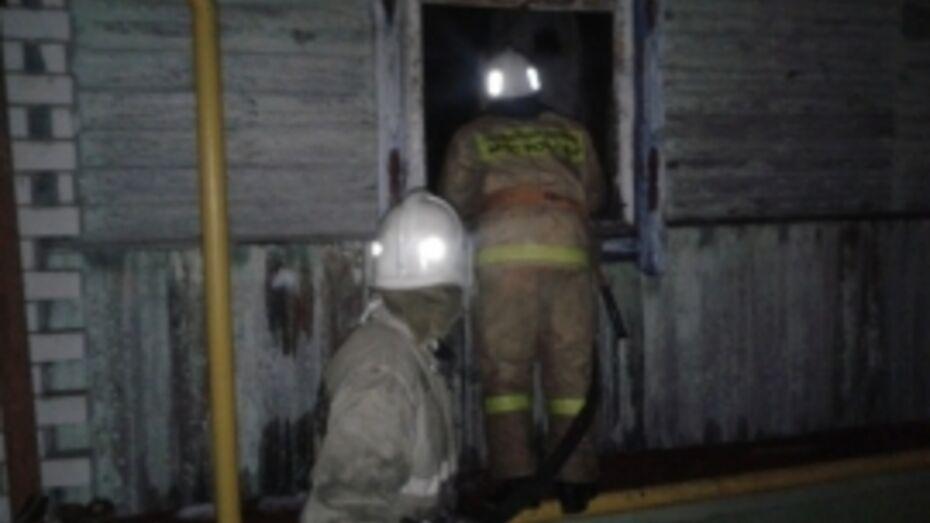 Следователи начали проверку по факту смерти мужчины при пожаре под Воронежем