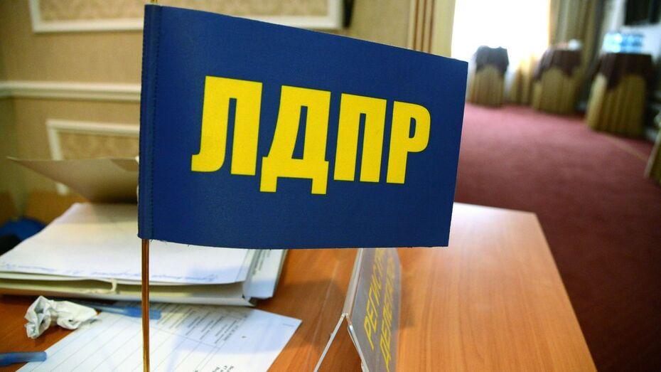 ЛДПР назвала кандидатов на воронежских выборах