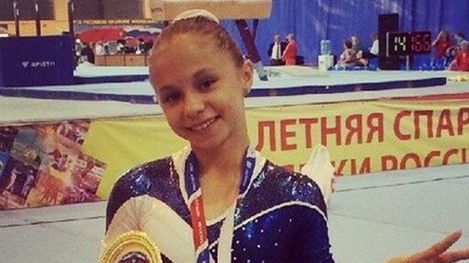Воронежские гимнастки выиграли первенство ЦФО