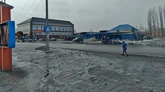 Центральную площадь в поворинских Песках отремонтируют за 10 млн рублей