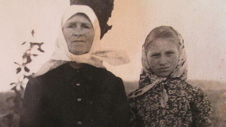 У матери на руках. Жительница воронежского села попала в фашистский концлагерь в 1,5 года