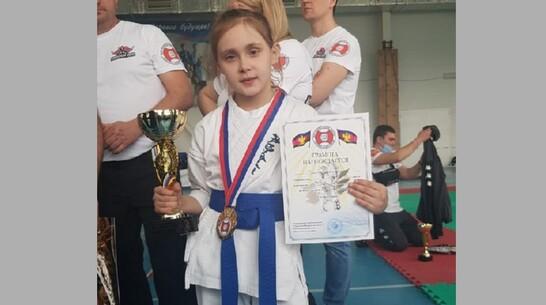 Верхнемамонская каратистка победила на Всероссийском турнире «Кубок Кубани»
