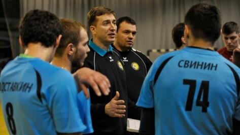 Тренер воронежской «Энергии»: «Мы допускали нелепые ошибки в нападении»