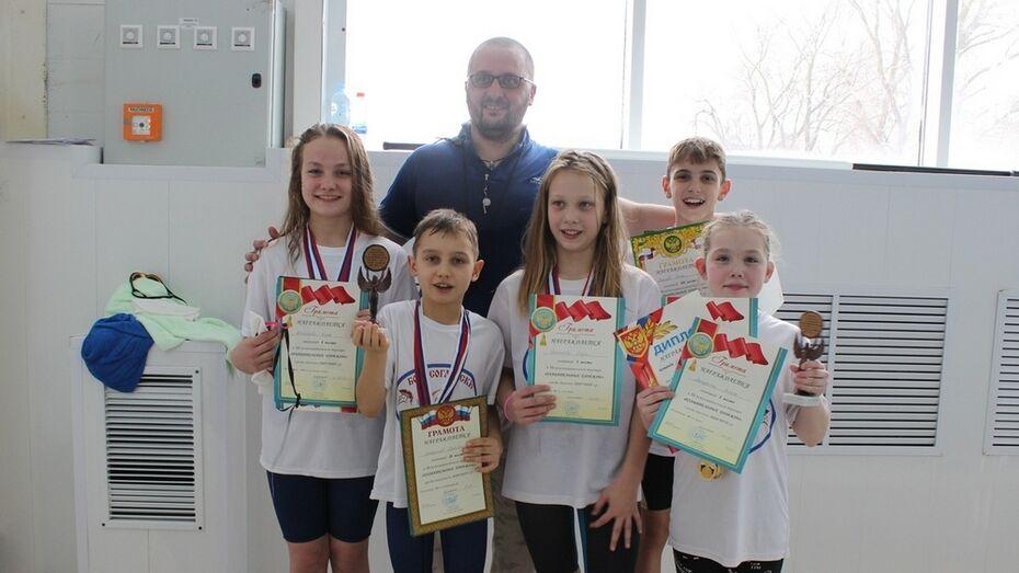 Борисоглебские пловцы завоевали 11 золотых медалей на межмуниципальных соревнованиях