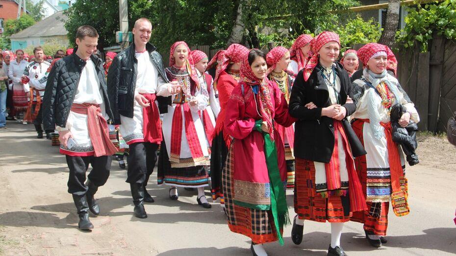 На фестиваль «На Троицу» в Новой Усмани собрались 5 тыс человек