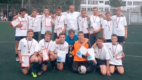 Таловские футболисты выиграли областной «Кожаный мяч»
