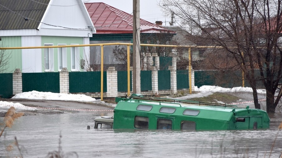 Паводок в Воронежской области