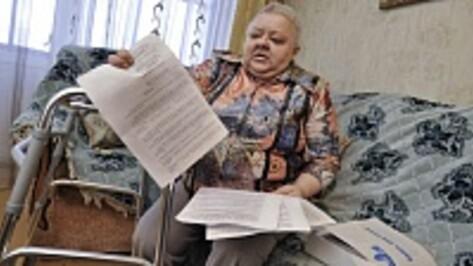 Воронежская пенсионерка подала десятимиллионный иск к банку, лицемерно извинявшемуся за попытки взыскать долг с ее покойного сына