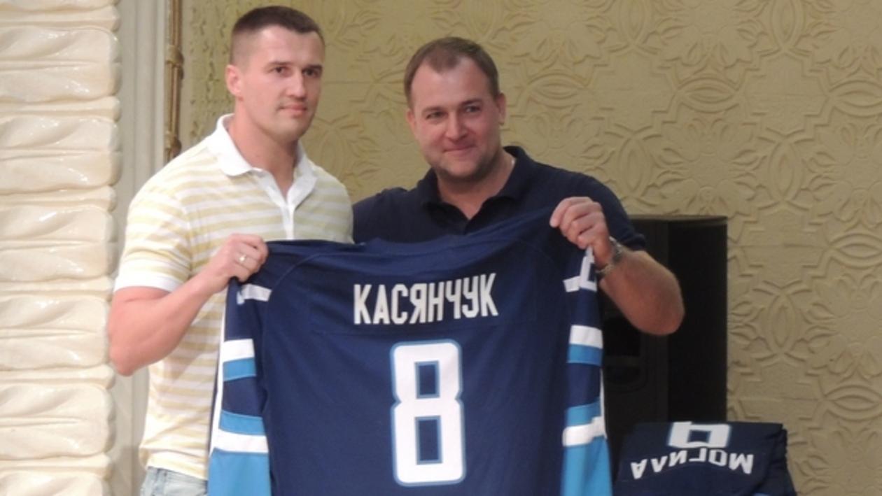 Константин Касянчук: «Меня позвал в воронежский «Буран» экс-НХЛовец Андрей Николишин»