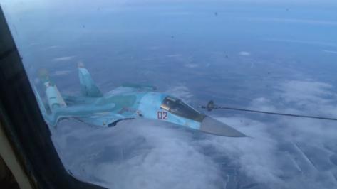 Экипажи Су-34 и МиГ-31БМ из Воронежской области отработали дальние перелеты с дозаправкой