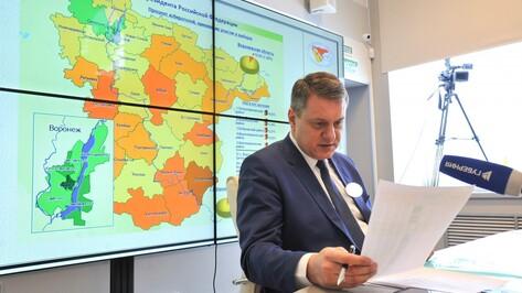 В Воронежской области к 15:00 явка на выборы президента составила 43%