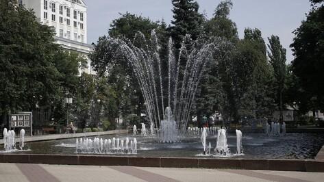 Сезон фонтанов в Воронеже закрыли 8 октября
